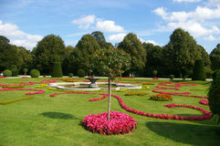Landscape park of Schonbrunn Palace Stock Photos