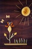 Landscape pasta Stock Photos