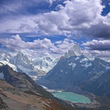 Landscape of Patagonia. Stock Photography