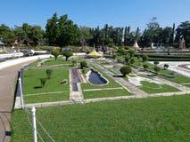 Landscape. PATTAYA THAILAND Mini Siam is a famous miniature park attraction Stock Images