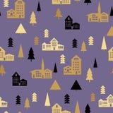 Landscape pattern Royalty Free Stock Image