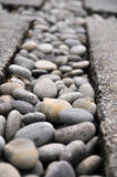 Landscape Pebble Stones Stock Image