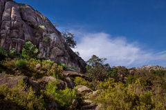 Landscape of Peneda geres national park in Portugal royalty free stock images