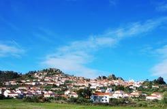 Landscape of Penha Garcia village. Portugal Royalty Free Stock Photo