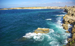 Landscape of Peniche. Stock Images