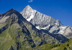Landscape in Pennine Alps, Switzerland Royalty Free Stock Images