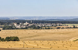 Landscape in the Perche Region of France Stock Photos