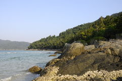 Landscape in Perhentian island in Malaysia Stock Images