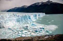 Landscape in Perito Moreno royalty free stock images