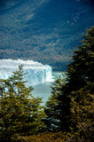 Landscape in Perito Moreno royalty free stock photos