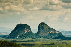 Landscape of Perlis stock image