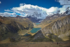 Landscape of Peru Stock Images
