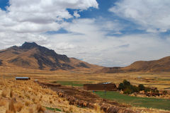 Landscape in Peru Royalty Free Stock Image