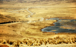 Landscape of Peru Royalty Free Stock Image