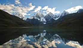 Landscape of Peru Stock Photography