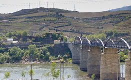 Landscape Peso da Regua Portugal Royalty Free Stock Photography