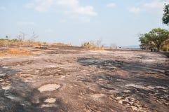 Landscape of Pha Taem National Park, Ubon Ratchathani Stock Photo