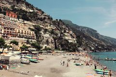 Landscape Photo of Beach Royalty Free Stock Photography