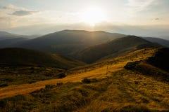 Landscape Photo of Brown Mountain Range Royalty Free Stock Image