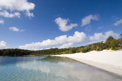 Landscape photo of lake mckenzie 4 Stock Photos