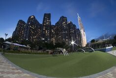 Landscape photo: Park in Landmark 81 towers