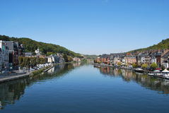 River view,Dinant,Belgium Royalty Free Stock Photos