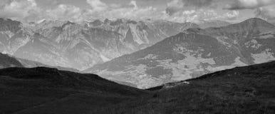 Landscape Photo of Snow Mountains Royalty Free Stock Photos