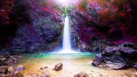 Landscape photo,Waterfall , beautiful waterfall in Thailand. Landscape photo Waterfall beautiful waterfall Thailand Royalty Free Stock Images