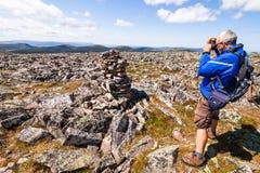 Landscape Photogaphe on top of a mountain Stock Photos