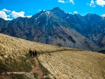 Kazbek Mountain, Caucasus, Georgia, Europe royalty free stock photos