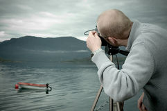 Landscape photographer Stock Photos