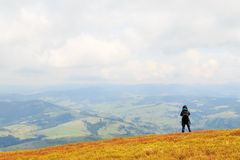 Landscape photography in Carpathians mountains royalty free stock photos