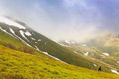 Landscape photography in Carpathians Stock Photography