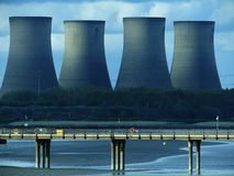 Landscape Photography of Cooling Tower Stock Image