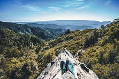 Landscape Photography of High Rise Mountain Royalty Free Stock Images
