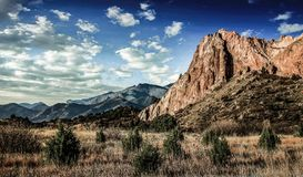 Landscape Photography of Mountains Stock Images