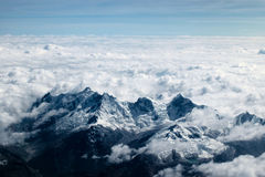 Landscape Photography of Sea of the Clouds Royalty Free Stock Images