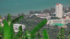 Landscape of Phuket stock video footage