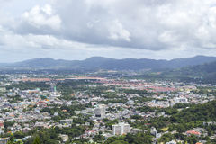 Landscape of phuket town Stock Photography