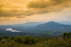 Landscape Phupapoh at Loei Thailand Stock Images