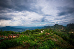 Landscape Phupapoh at Loei Thailand Royalty Free Stock Image