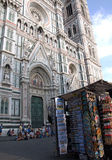 Landscape of Piazza del Duomo in Florence, Italy Royalty Free Stock Image