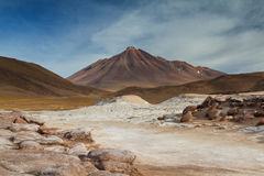 Landscape of Pierdras Rojas Royalty Free Stock Image