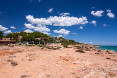 Landscape in Pinus Village. Landscape in Pinus Village in Sardinia, Italy. Location cosed to the well-known beach Costa Rei Stock Photography