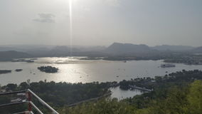 Landscape. Place: udaipur, india Royalty Free Stock Photo