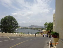 Landscape. Place: udaipur, india Royalty Free Stock Photos