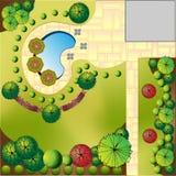 Landscape  Plan Stock Photography