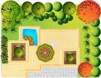 Landscape  Plan Royalty Free Stock Photos