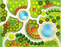 Landscape  Plan Royalty Free Stock Images