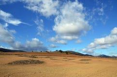 Landscape plow Stock Photo